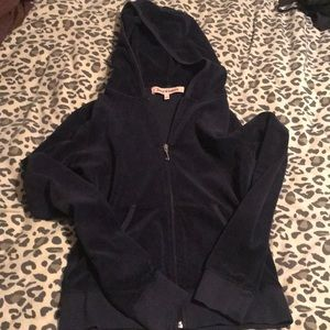 Juicy couture navy velour tracksuit
